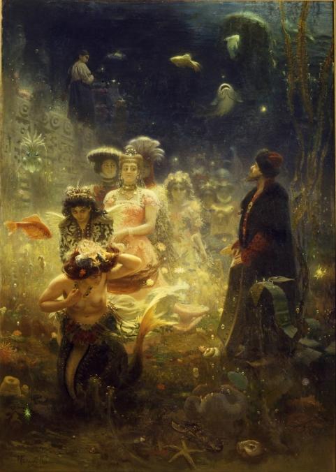 mystical underwater