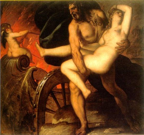 The Rape of Persephone-raub