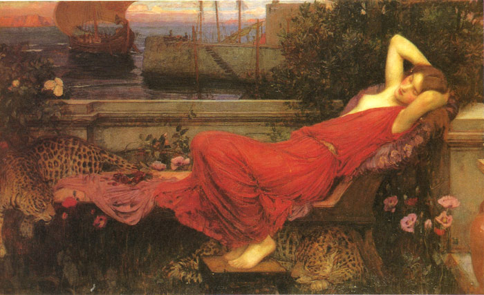 ariadne-1898_waterhouse-john-william_painting