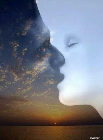 sun kisses mon