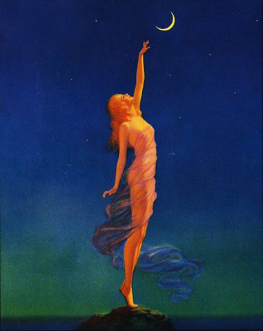 Edward Eggleston. Reaching for the moon. 1933 #